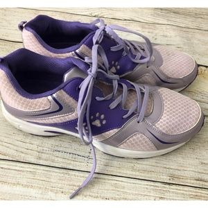 Animal Rescue Site 10 Purple Athletic Tennis Shoes